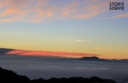 Alba su Monte Bromo