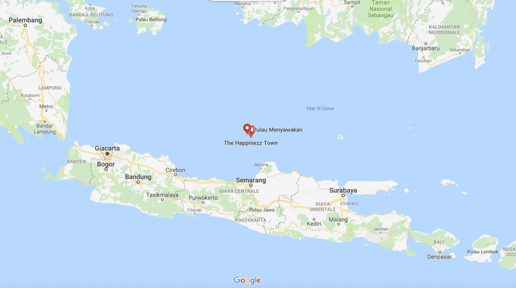 mappa-karimunjawa-1024x572 Le isole Karimunjawa - Indonesia | Guida fai da te