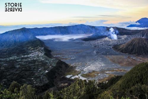 Bromo-13 Indonesia: lo straordinario spettacolo dell'alba sul Vulcano di Bromo