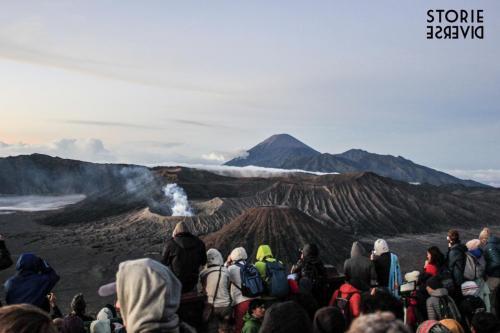 Bromo-4 Indonesia: lo straordinario spettacolo dell'alba sul Vulcano di Bromo