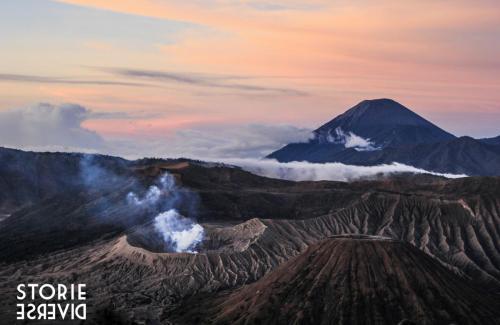 Bromo-9 Indonesia: lo straordinario spettacolo dell'alba sul Vulcano di Bromo