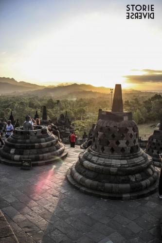 MG_3144 Yogyakarta: e quel tramonto dal Borobudur?