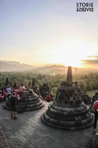 MG_3146 Yogyakarta: e quel tramonto dal Borobudur?