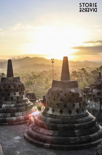 MG_3154 Yogyakarta: e quel tramonto dal Borobudur?