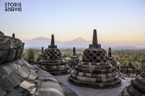 MG_3186 Yogyakarta: e quel tramonto dal Borobudur?